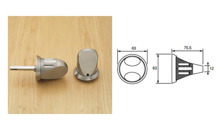Knurled-knob-set