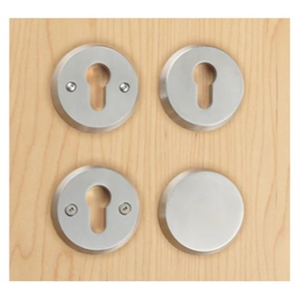 Orbis anti-ligature - cylinder escutcheons