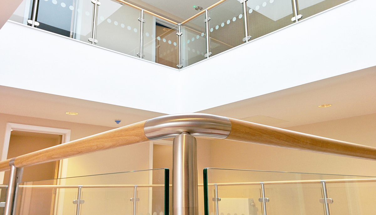 Balustrades at Royal Marsden Hospital - Sutton, Surrey