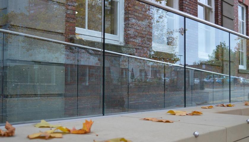 Staffordshire University Structural Glass Balustrade