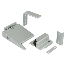 Orbis MK2 CE Fire Door Selector - Satin Stainless Steel