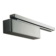 Orbis Cam Action Slide Arm Door Closer Size 2-4 - Satin Stainless Steel