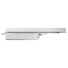 Orbis Overhead Concealed Electromagnetic Door Closer Single Action Size 2-4 - Silver