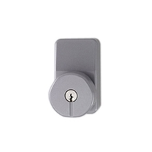 Orbis Knob Operated Compact Outside Access Device - Silver